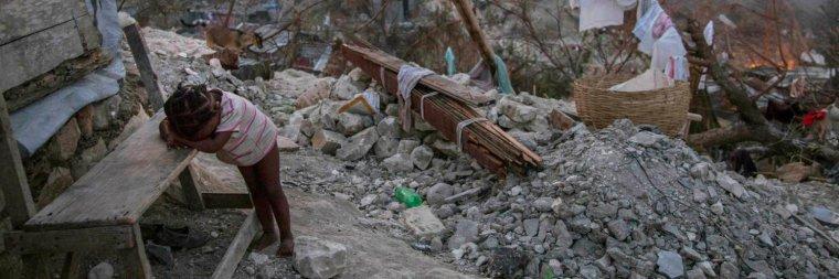 """Haïti : """"C'est comme si une bombe atomique avait explosé"""""""
