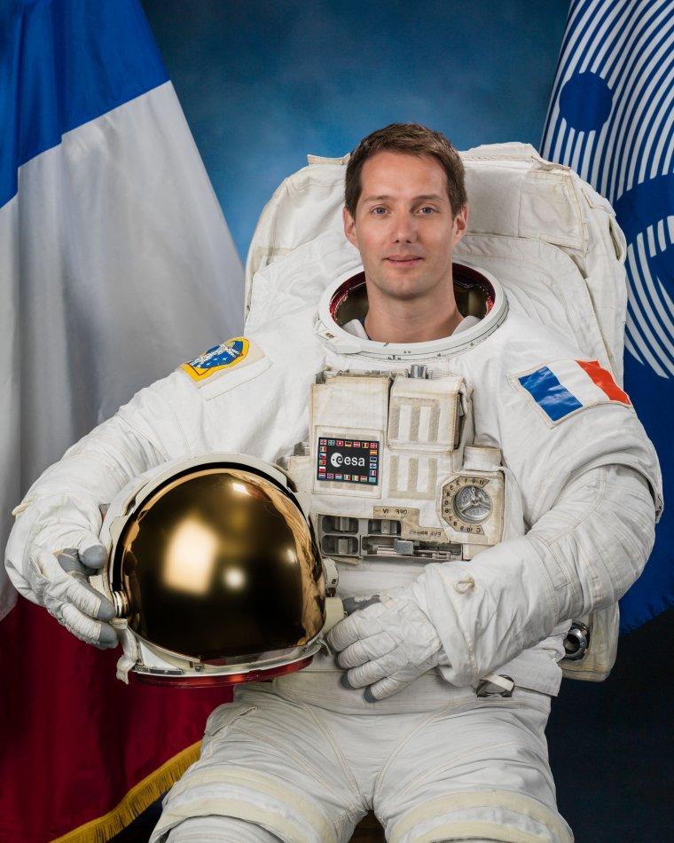 L'astronaute Thomas Pesquet, ambassadeur de l'UNICEF France dans l'espace