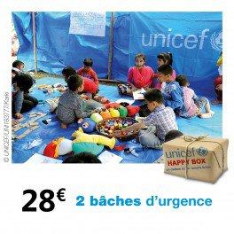 Happy box de l'UNICEF