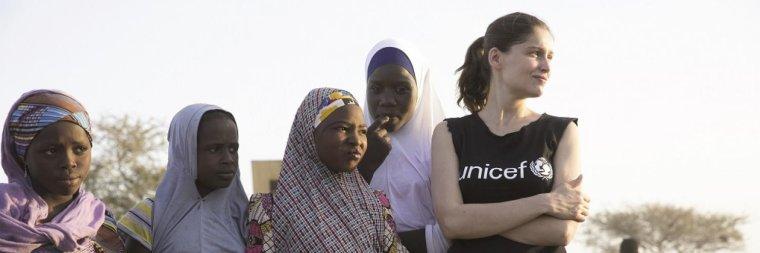 """Laetitia Casta, nouvelle ambassadrice UNICEF : """"Protégeons les enfants de la guerre !"""""""