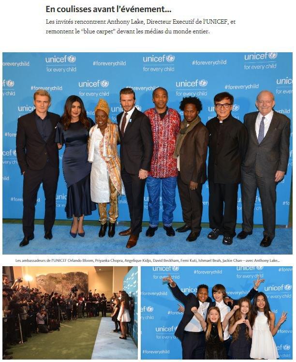 Revivez les 70 ans de l'UNICEF… avec les Kids United !