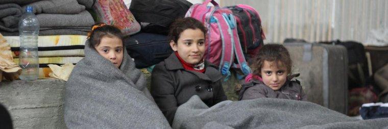 Syrie, Irak... : l'hiver, une menace supplémentaire pour les enfants