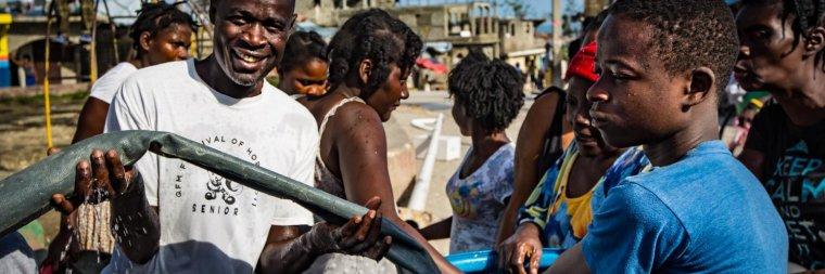 3 mois après l'ouragan Matthew, le point sur les interventions de l'UNICEF en Haïti