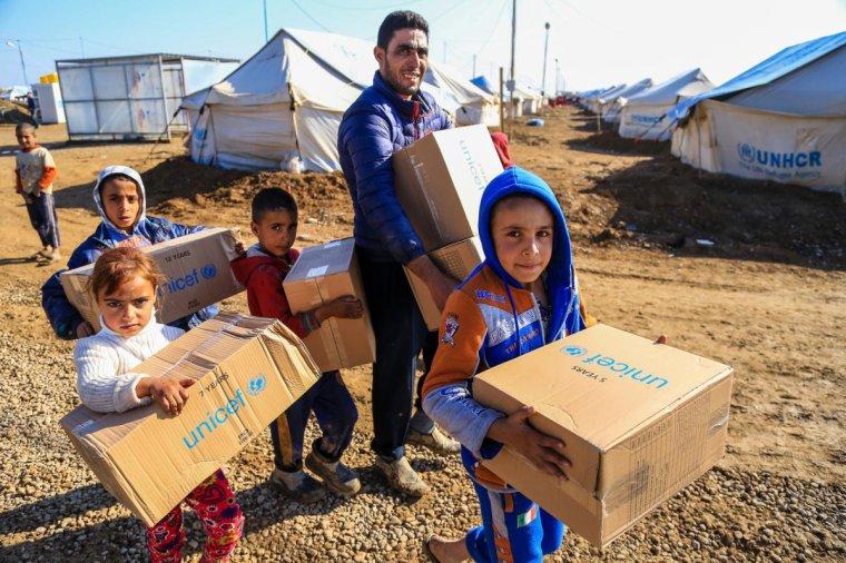 Enfants syriens : un manteau, un bonnet, des gants… et un sourire