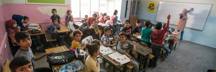 Plus de 40% des enfants syriens réfugiés en Turquie ne sont pas scolarisés
