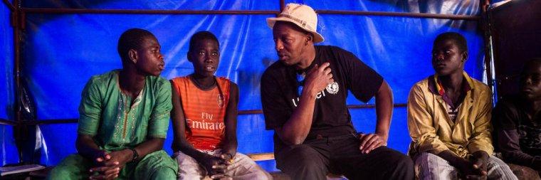 Oxmo Puccino : « Le défi de redonner le sourire aux enfants du Niger au milieu de cette crise »