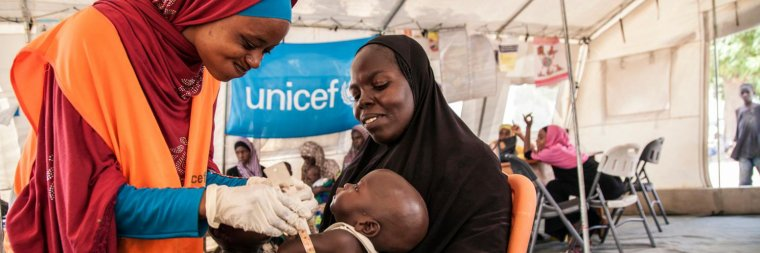Urgences : l'UNICEF a besoin de 3,3 milliards de dollars pour financer ses actions en 2017