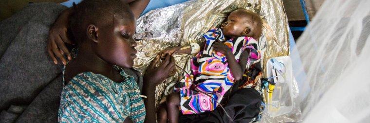 Près d'1,4 million d'enfants risquent de mourir alors que la famine menace 4 pays d'Afrique