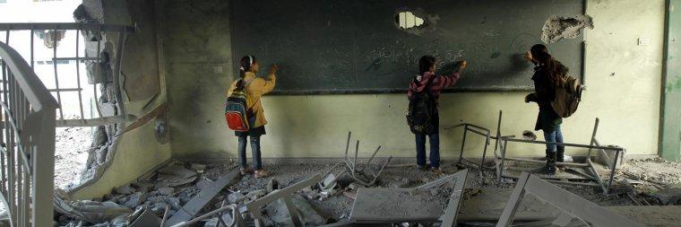 François Hollande annonce la signature par la France de la Déclaration sur la sécurité dans les écoles