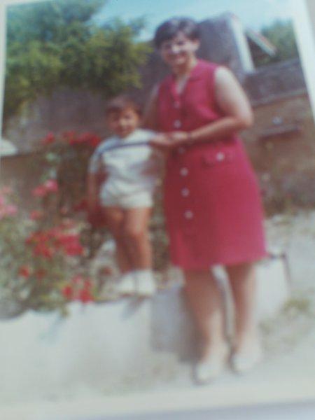 Moi et mon filleul Frederic