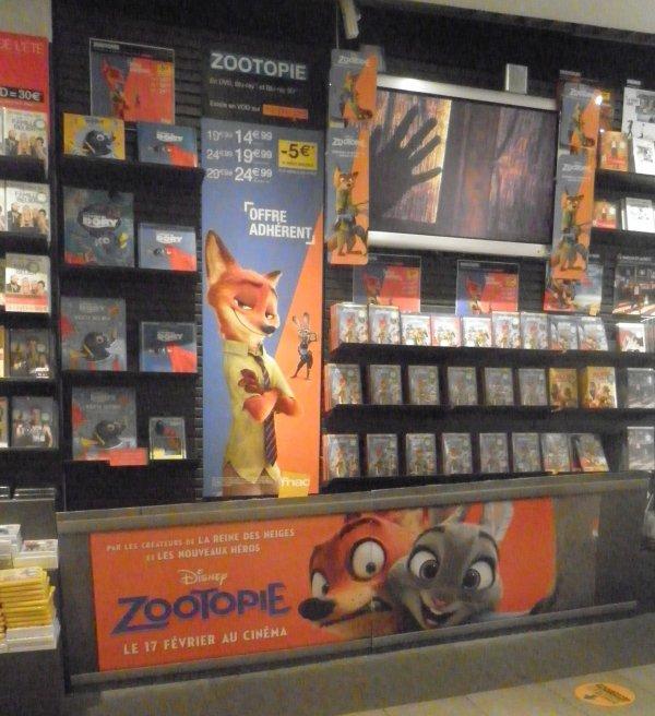 DVD Zootopie 28 juin 2016