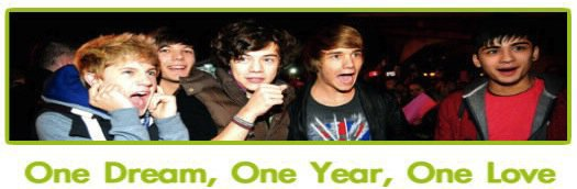 One Dream, One Year, One Love