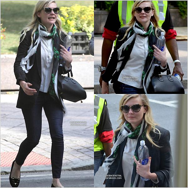 :  08/05/13    Kirsten était présente sur le tournage du film « Anchorman: The Legend Continues » à Atlanta.