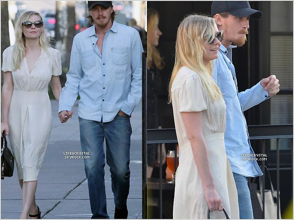:  10/05/13    Kirsten Dunst est rentrée d' Atlanta, elle a été aperçue à « l'aéroport de LAX » à Los Angeles. !