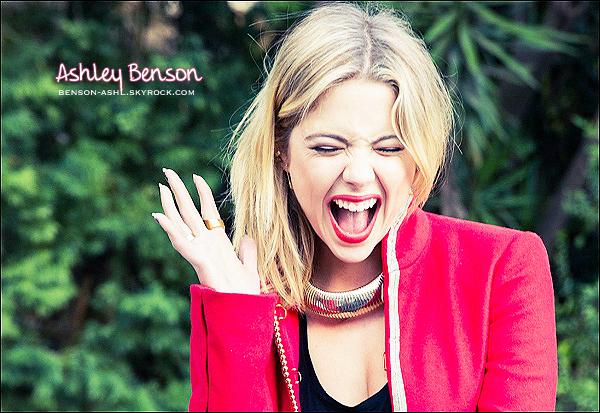 ✲✲ Votre nouvelle source sur la belle et talentueuse actrice Ashley Benson !