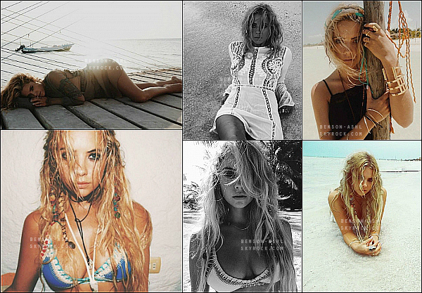✲ La belle Ashley a réalisé un nouveau shoot, toujours pour le site Find Your California !