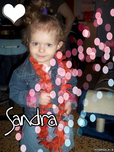 Sandra ma Filleule