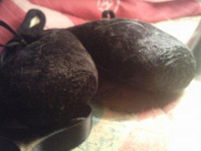 mes pointes noires :)