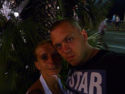 magnifique vacance a nice avec mon amour