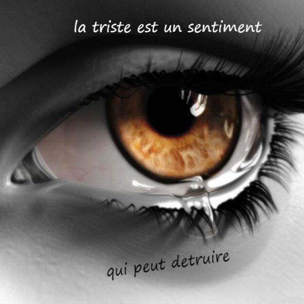 la tristesse