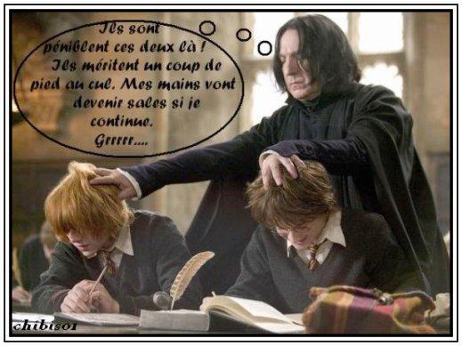 Severus harry ron chibi 39 s harry potter - Harry potter 8 et les portes du temps bande annonce ...