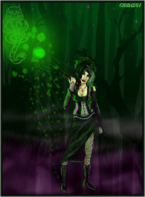 Bellatrix chibi 39 s harry potter - Harry potter 8 et les portes du temps bande annonce ...
