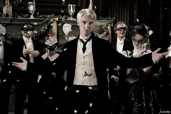 Draco Malfoy by judydepp