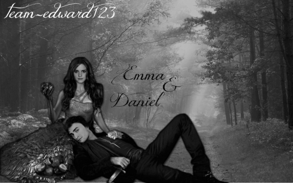 Emma and Daniel by team edward