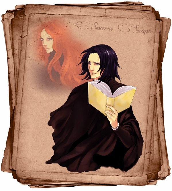 Lily & Severus by purple meow