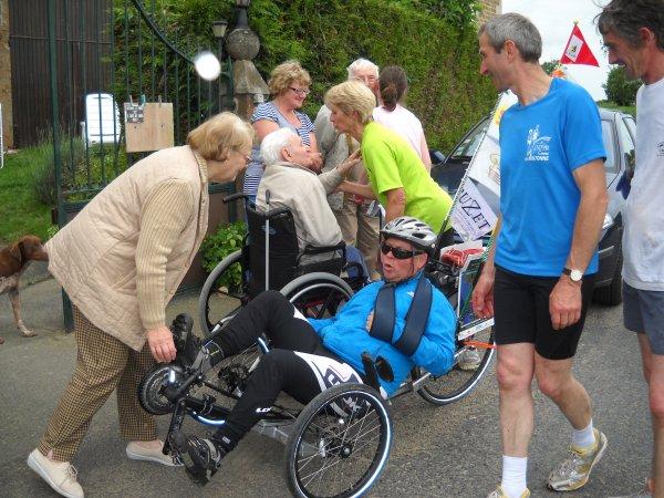 38 éme étape: Longuenoe  à  St-Marie-la Robert  21 km (61)