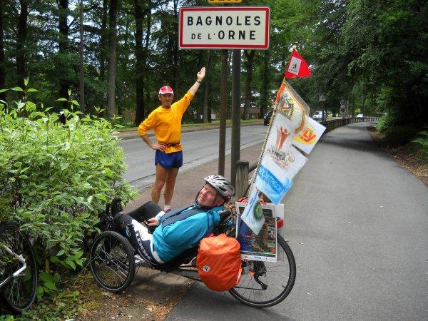 39 éme étape:  St-Marie-la Robert  à  Bagnoles de L'orme 29 km (61)