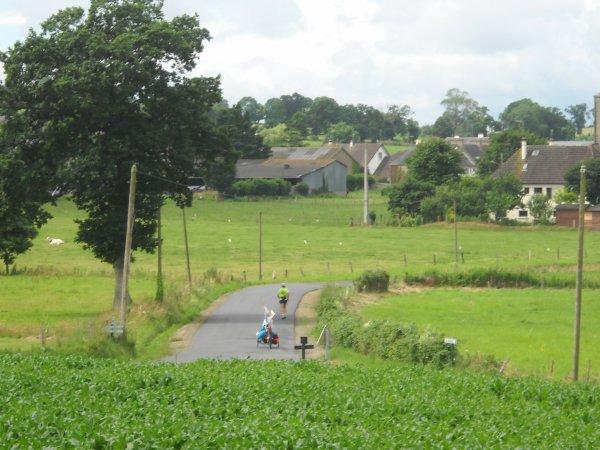 43 éme étape:  St-Hilaire du Harcouet  à Pontaubault   24 km (50)