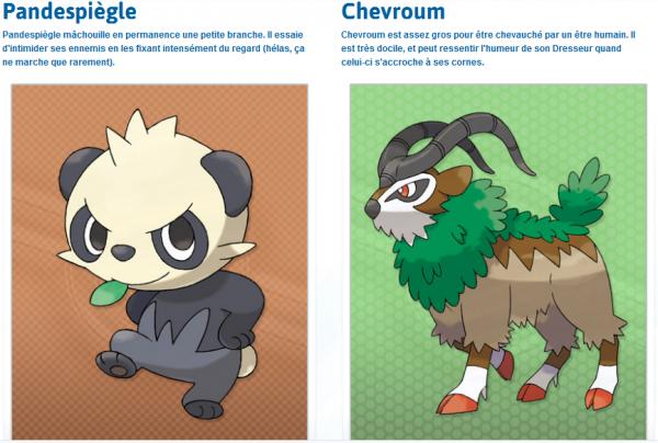 Nouveautés sur Pokémon X et Y !