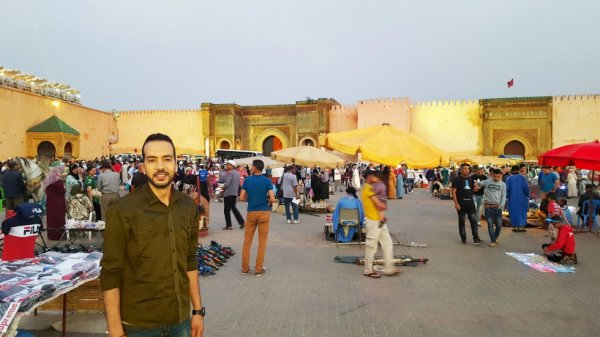This summer at Meknes
