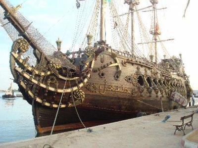bateau pirate annibale a sousse