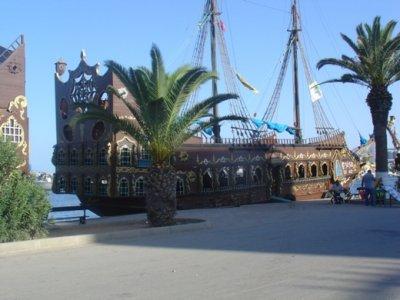 bateau pirate aziza a sousse