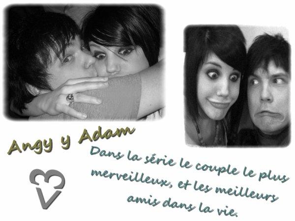 Angy y Adam ;)