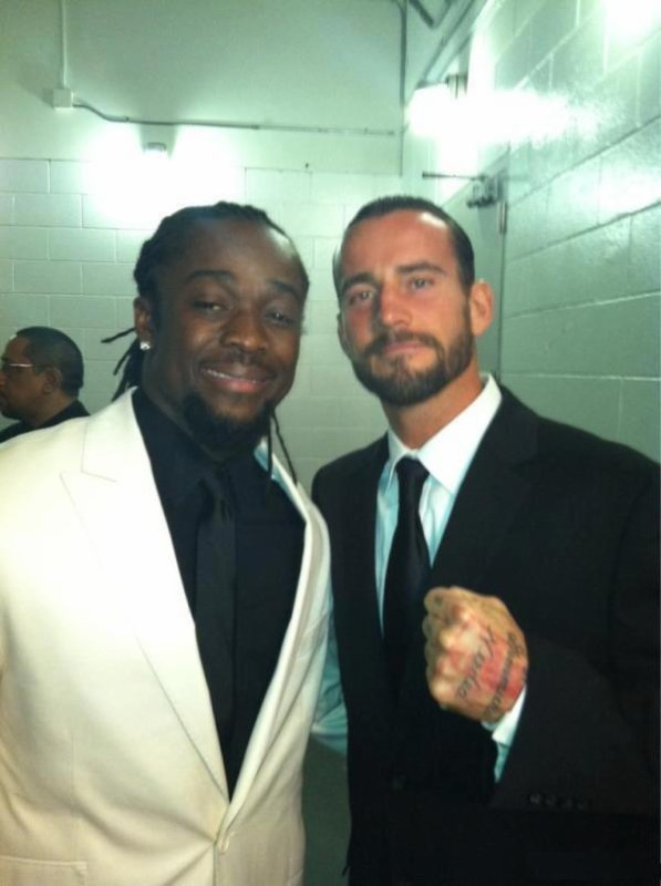 PHOTO CM PUNK  KOFI & JOHN