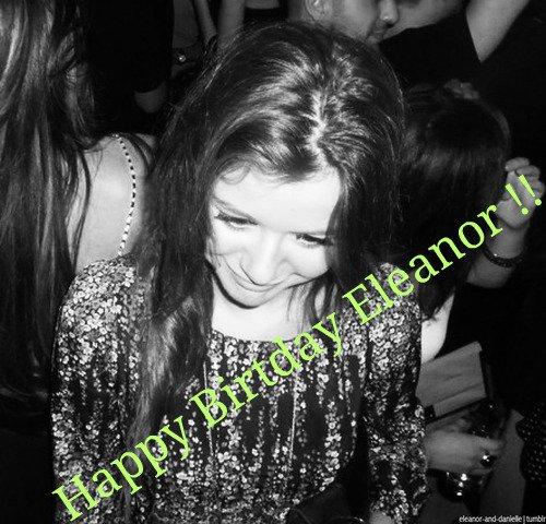16/07/12 ~ Anniversaire d'Eleanor ♥