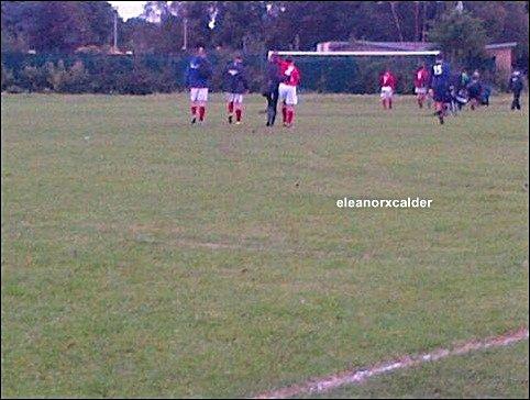 30/09/2012 - Eleanor est allée encourager Louis