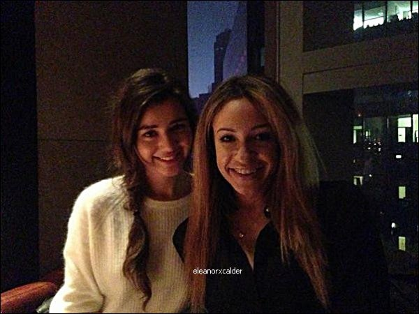 27/12/2012 - Nouvelle photo d'Eleanor et Danielle