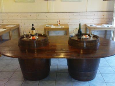 Table A Salon Manger Le Monde Du Tonneau