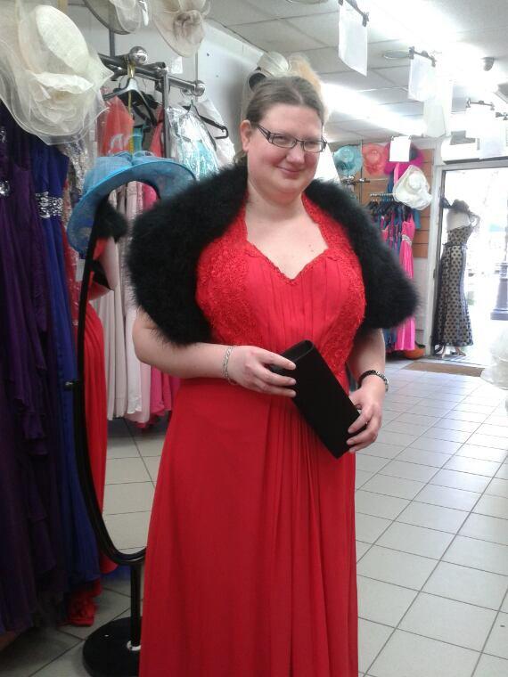 La robe pour le mariage de ma soeur