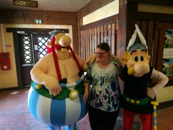 Parc Asterix le 14 juillet 2018