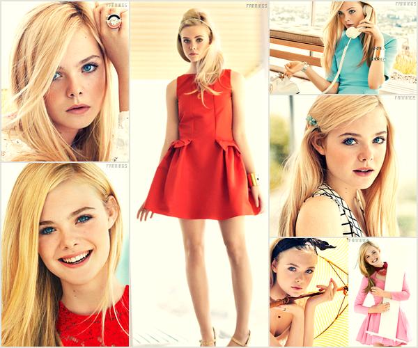 . _Photoshoot_ → Elle Fanning :magnifique photoshoot de Elle fait par Sebastian Kim pour Teen Vogue