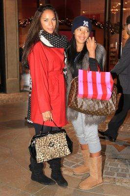 Leona et Angela son amie à LA