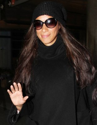 Leona à L'aéroport de LA =)