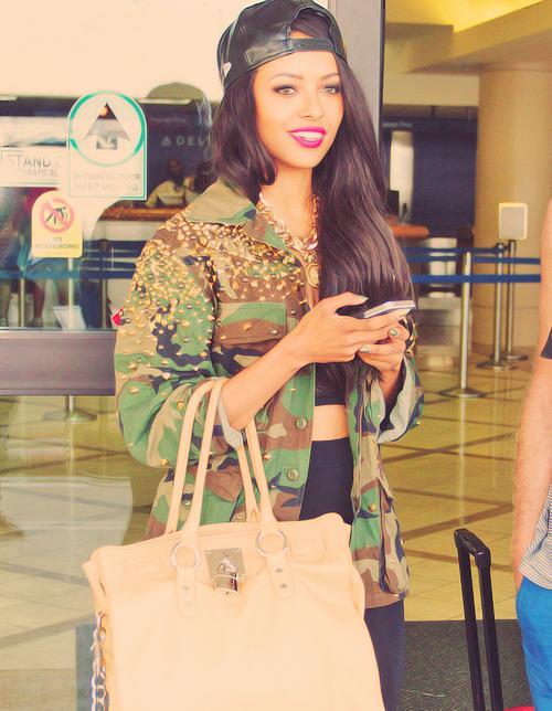 #StyleRihanna #Girl #Militaire #Cute