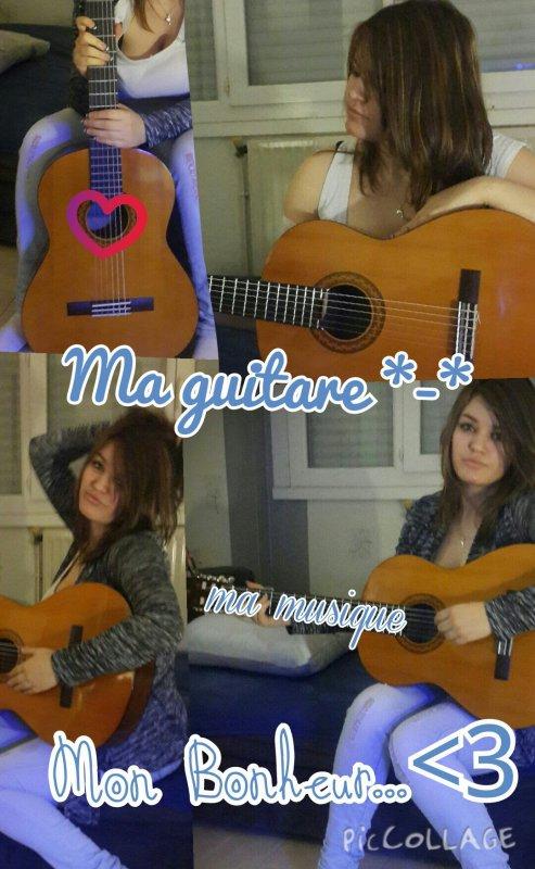 Une guitare, ça déclenche des passions 