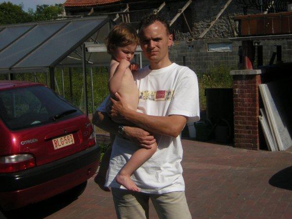 Rochefort avec Camille 2005
